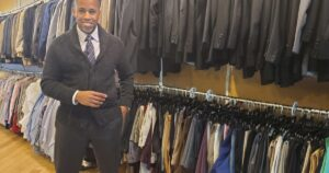 Local business helping men find affordable professional attire