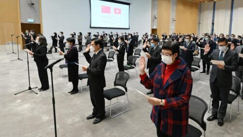Hong Kong district councillors face first oath-taking ceremony on Friday, participants must don 'business attire', shun political slogans