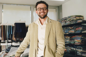 Tom Riley says it's best to invest in some key wardrobe pieces.